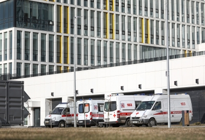 В Москве выявлено более 5 тысяч новых случаев заболевания Covid-19