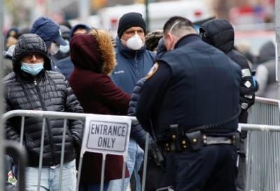 США обошла Китай по количеству заболевших коронавирусом