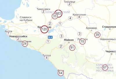 В каких городах Краснодарского края есть коронавирус – обновлено