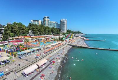 65 санаторных пляжей в Сочи могут открыться с 1 июня