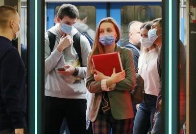 96% людей в московском метро используют маски