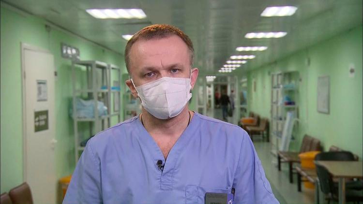 главный врач Филатовской больницы В. Вечорко