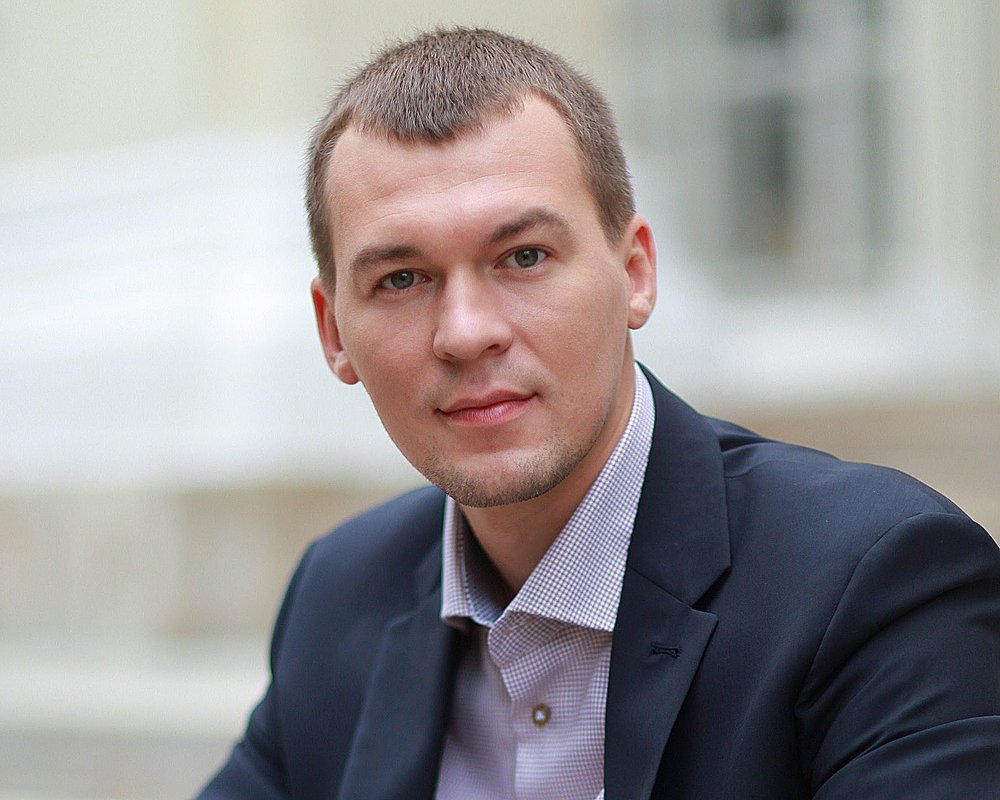 врио губернатора Хабаровского края Михаил Дегтярев